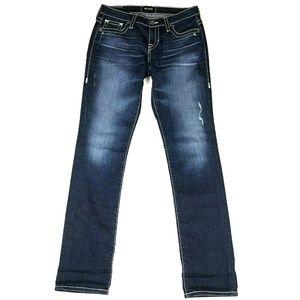 Big Star Kate Straight Dark Wash Jeans 27 R